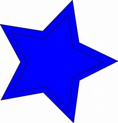 Star Double Clip Clker Clipart Vector Domain