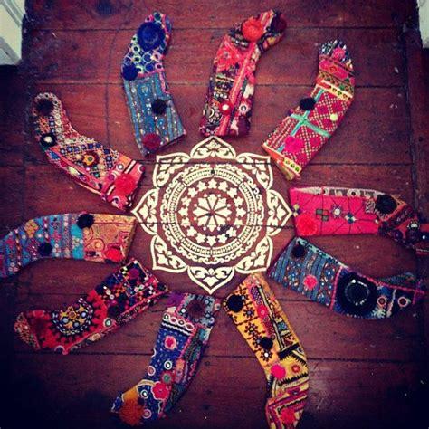 vintage bohemian christmas stockings hippie christmas
