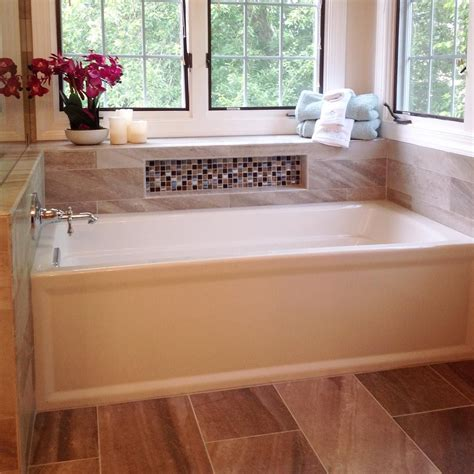 how to install kitchen tile the 3 wall alcove kohlerco archer tub creates a soft 7266
