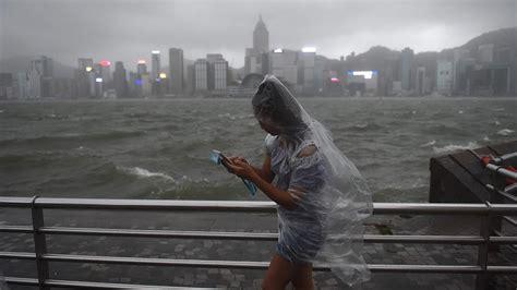 typhoon hato hits hong kong nbc news