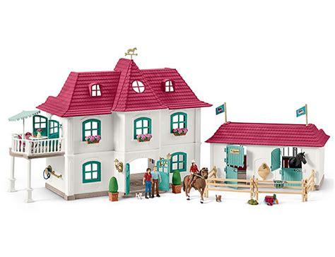Schöne Wohnhäuser by Schleich Club Grosser Pferdehof Mit Wohnhaus Stall