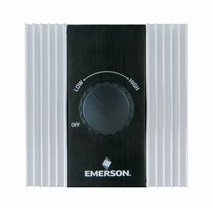 Emerson sw white switch for ceiling fan control