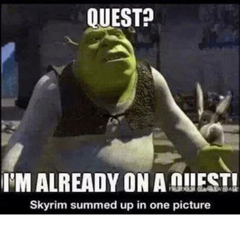 Meme Quest - search skyrim pictures memes on sizzle