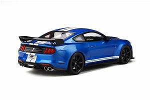 1/18 GT Spirit GTSpirit 2020 Mustang Shelby GT500 GT-500 GT (Blue) Resin Car Model ...