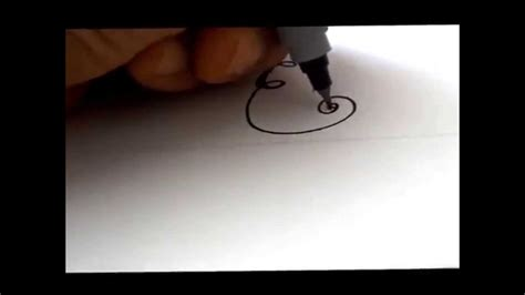 How To Draw A Fancy Swivereled Letter 'e'