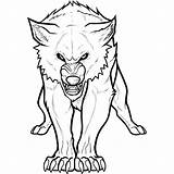 Wolf Coloring Pages Arctic Printable sketch template