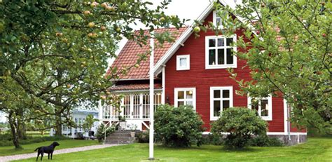 swedish style house croft on the countryside in sweden nordic bliss
