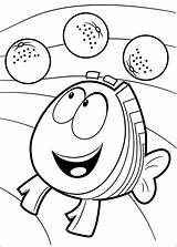 Bubble Guppies Coloring Pages Fun sketch template