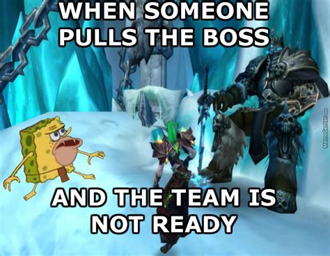 Warcraft Meme - warcraft boss fight by enderboss meme center