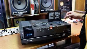 Sony Betamax Sl-c7e Video Recorder