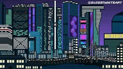 Pixel Lofi Cyberpunk Wallpapers Backgrounds 1080 1920