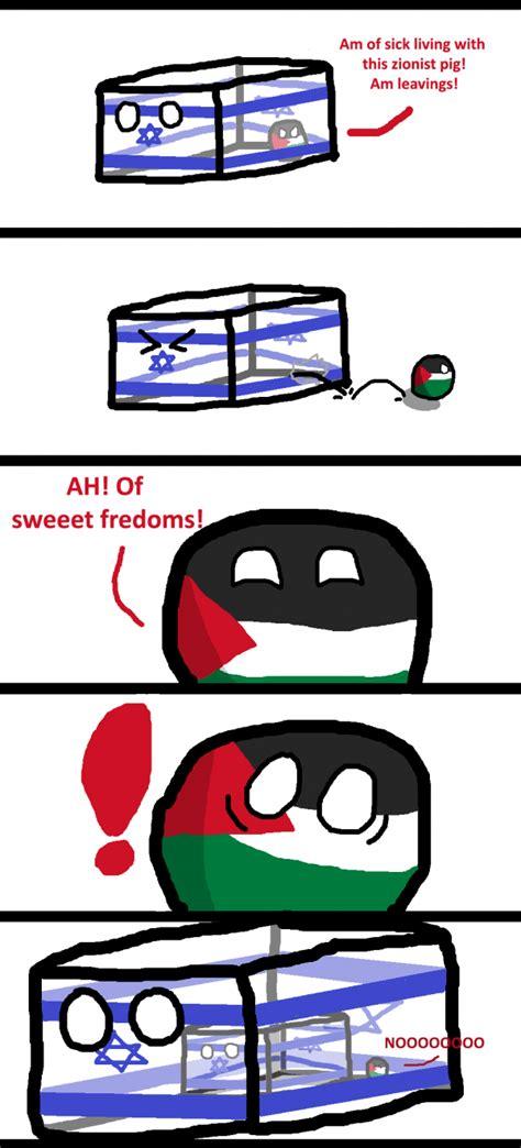 polandball polandball comics palestine