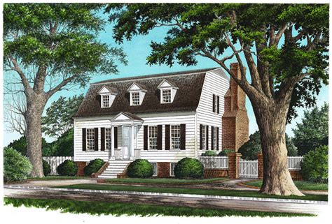 20 Examples Of Homes With Gambrel Roofs (photo Examples
