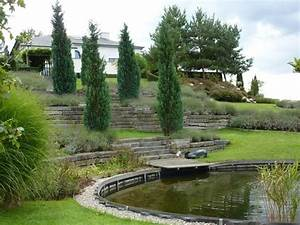 amenagement terrain en pente recherche google terrasse With amenagement jardin en pente