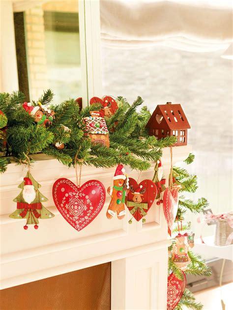 una navidad en rojo  verde  ideas  decorar tu casa