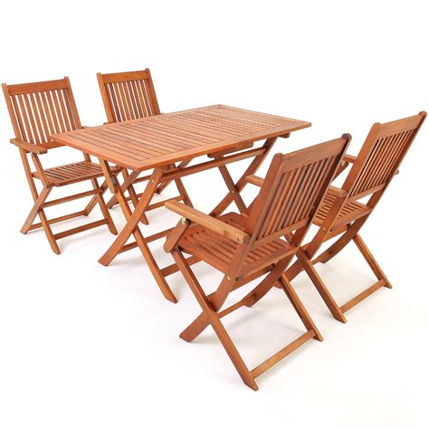 Outdoor Furniture Ebay Nsw by Wooden Garden Chair And Table Furniture Set Quot Sydney