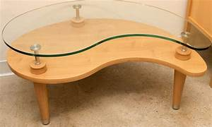 kidney shaped glass coffee table interior design ideas With kidney shaped glass coffee table
