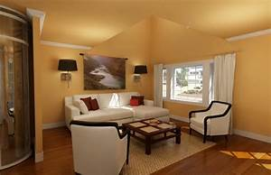 Stunning Peinture Mur Salon Moderne Photos Amazing House Design ...