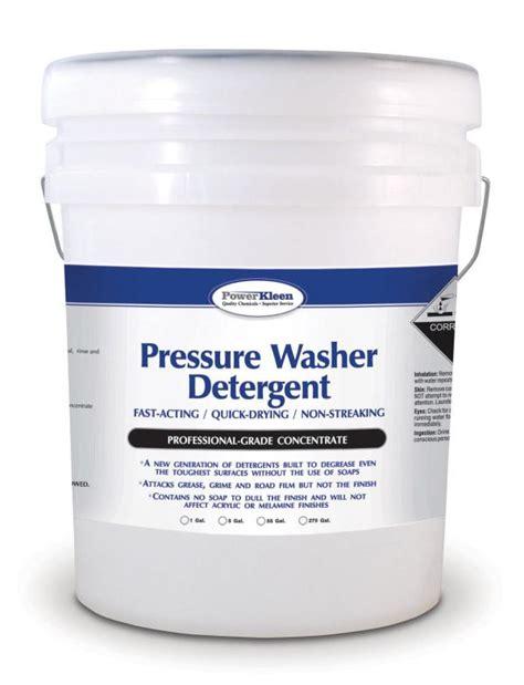 Pressure Washer Detergent Jamson Labs Power Kleen