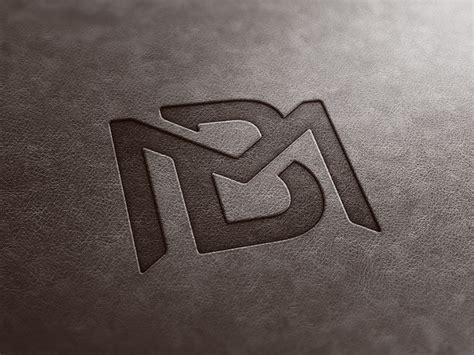 bm monogram leather   billy metcalfe  dribbble