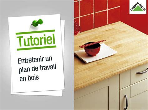 comment couper plan de travail cuisine comment entretenir un plan de travail en bois leroy
