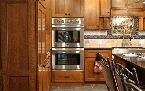 quarter sawn kitchen cabinets quarter sawn oak custom kitchen utica pa fairfield