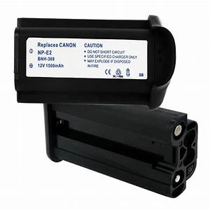 Canon Camcorder Comparison Chart Canon Np E2 Replacement Battery Bnh 369 Camcorder