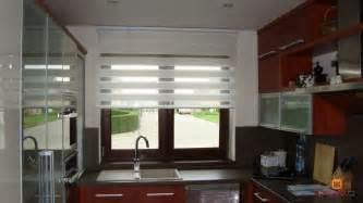 moderne gardinen für wohnzimmer küche kã chenfenster mit duo rollo gardinen ideen für große fenster gardinen ideen wohnzimmer