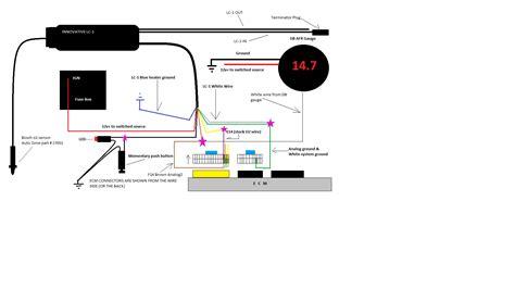 wideband sensor wiring