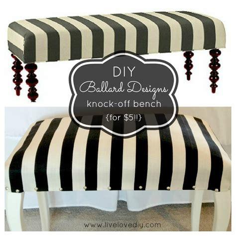 how to upholster a bench livelovediy diy striped upholstered bench