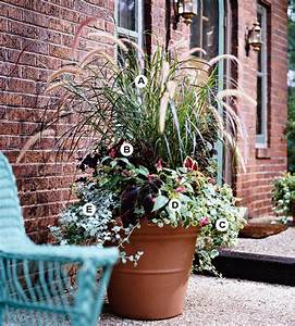 Bhg style spotters for Front porch container gardening ideas