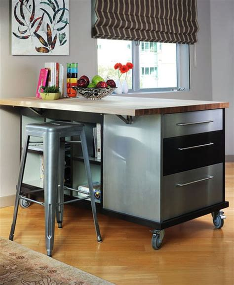 best kitchen islands for small spaces choose furniture on wheels if you want mobility