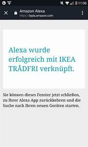 Ikea Lampen Alexa : alexa und tradfri verbinden seit 01 november geht das ~ Lizthompson.info Haus und Dekorationen