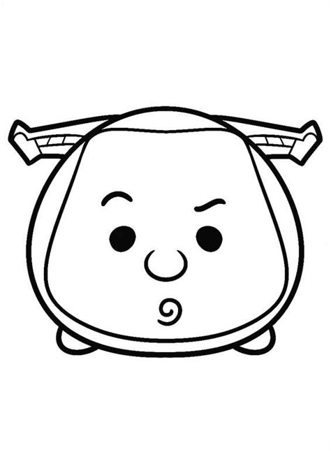 Coloring Tsum Tsum by Stitch Tsum Coloring Pages Coloring Pages
