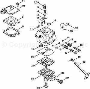 Stihl Ms 441 Parts Diagram