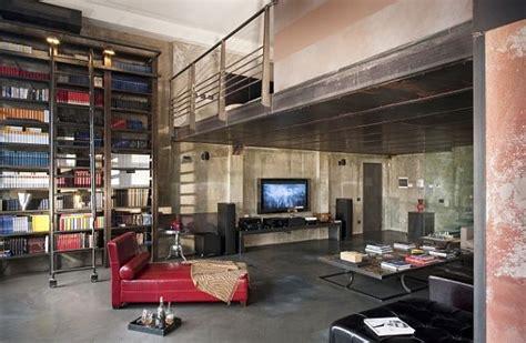 industrial loft feel  home