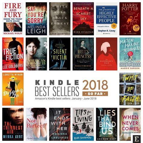 Best Novels Top 20 Kindle Bestsellers Of 2018 To Add To Your Summer