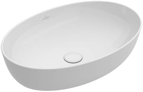 aufsatzwaschbecken villeroy und boch artis vasque 224 poser ovale 419861 villeroy boch