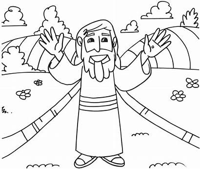 Coloring Christian Easter Pages Religious Printable Colouring