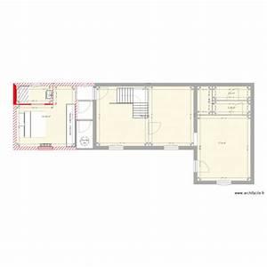 Rez De Chaussé : rez de chauss plan 5 pi ces 65 m2 dessin par roberts3 ~ Melissatoandfro.com Idées de Décoration