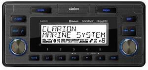 Clarion M608 Marine Media Receiver - Clarion M608 - Clarion Audio  Video