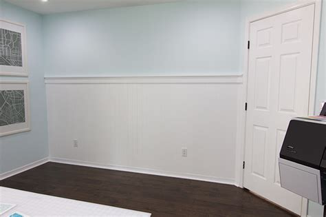 Beadboard For Walls : Beadboard Wall & Shelf Ledge