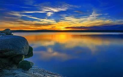 Sunset Desktop Wallpapers Cool 4k Sunrise Landscape