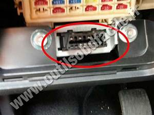 Obd2 Connector Location In Hyundai I10  2013 - 2016