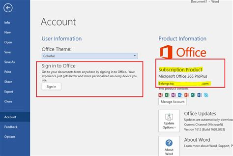 Office 365 Account by Office 365 User Login Prompts Continually Appear On