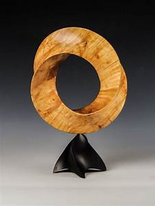 Wood Turned Art Inspired By The Mathematical Forms Of