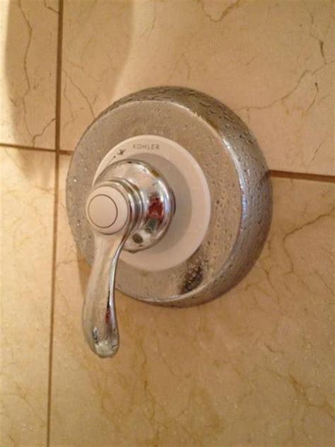 remove kohler shower faucet doityourselfcom community