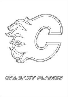 coloring  calgary flames nhl hockey vaerityskuva