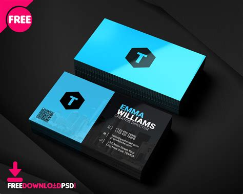 salesmans business card freedownloadpsdcom