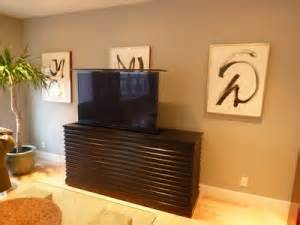 le bloc espresso modern tv lift living room photos cabinet tronix